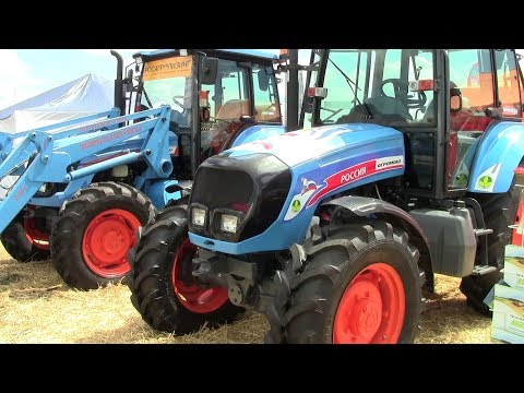 Трактор АГРОМАШ 85ТК - НОВИНКА Российского тракторостроения? Обзор 2017