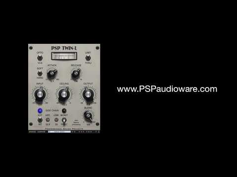 One Minute Guide to the PSP Twin-L (dual limiter plug-in)!