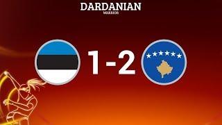 Estonia W [1-2] Kosovo W // Women's EURO Qualifiers
