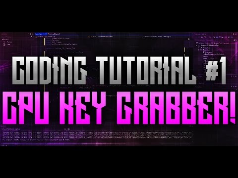 Coding Tutorials #1 | CPU Key Grabber (RGH ONLY)