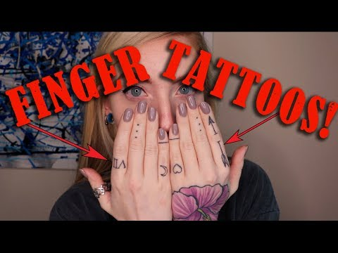 EVERYTHING ABOUT FINGER TATTOOS! | Howlesque