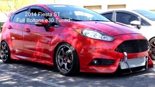 Fiesta ST on e30 vs Fiesta ST Stage 3