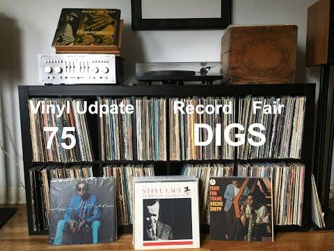 Vinyl Update #75 - Montreal Record Fair Digs