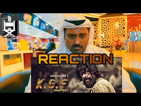 KGF Trailer Reaction by Hamad Al Reyami