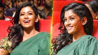 Bharathi Kannamma Roshini's Stunning Candid Moments At Galatta Nakshathra 2019