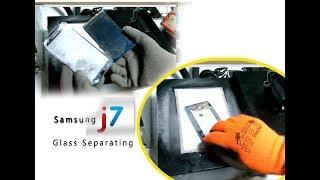 Samsung J7 2016 (J710F) Glass Only Separating at -150ºC (Liquid Nitrogen Machine) New Method 2018