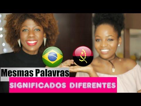 BRASIL Vs ANGOLA- Diferenças no português ft. Samara Indi