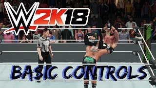 WWE 2K18 Basic Controls
