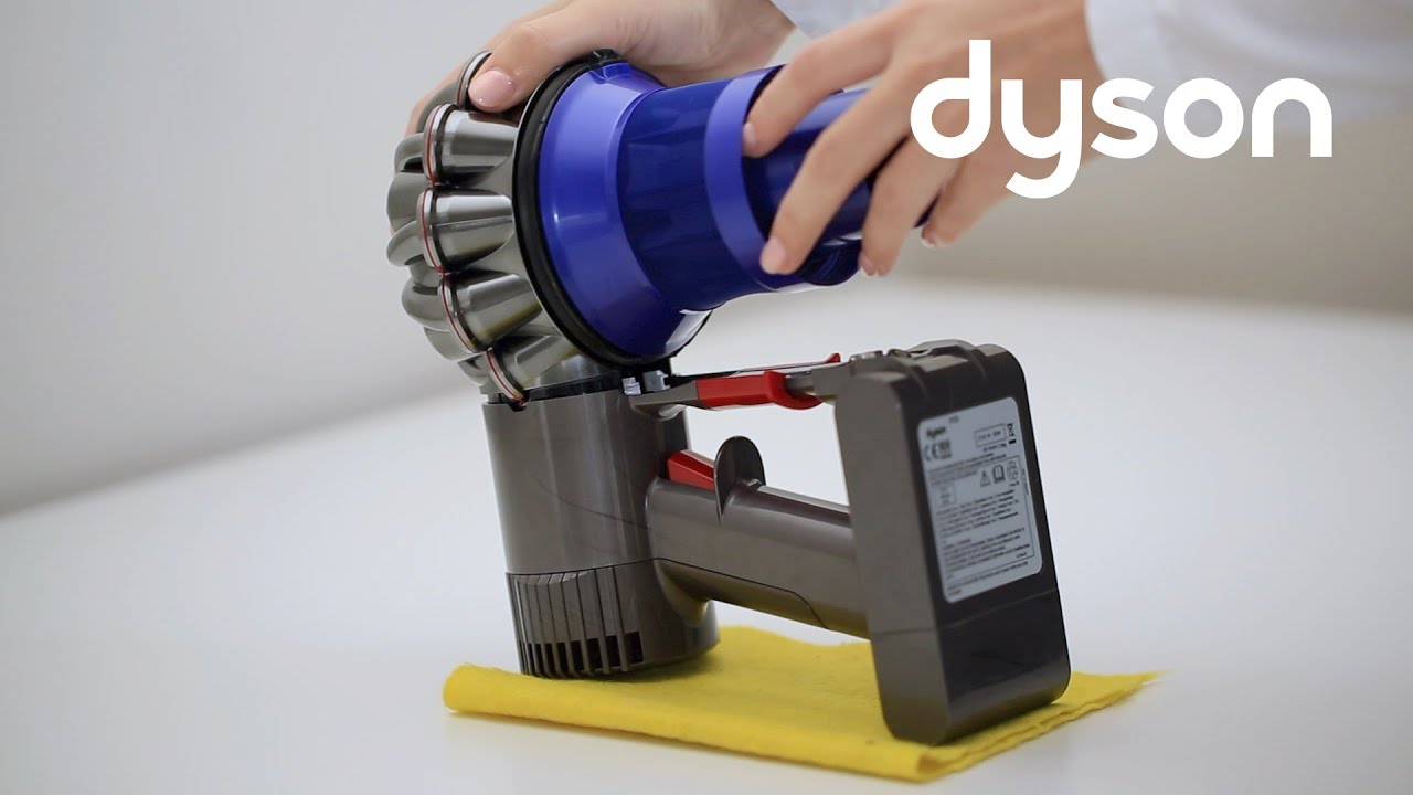 dyson v6 cord free vacuums replacing the cyclone pack uk youtube. Black Bedroom Furniture Sets. Home Design Ideas