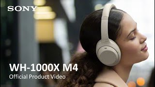 Sony Noise Cancelling Headphones WH-1000XM4 Official Product Video