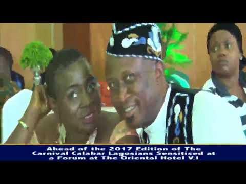 CALABAR CARNIVAL 2017 TESTS RUNS IN LAGOS