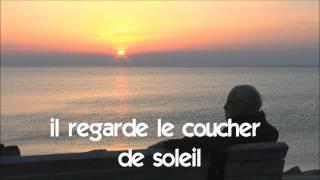프랑스어 = 불어를 배우세요 # Vocabulaire # il regarde le coucher de soleil