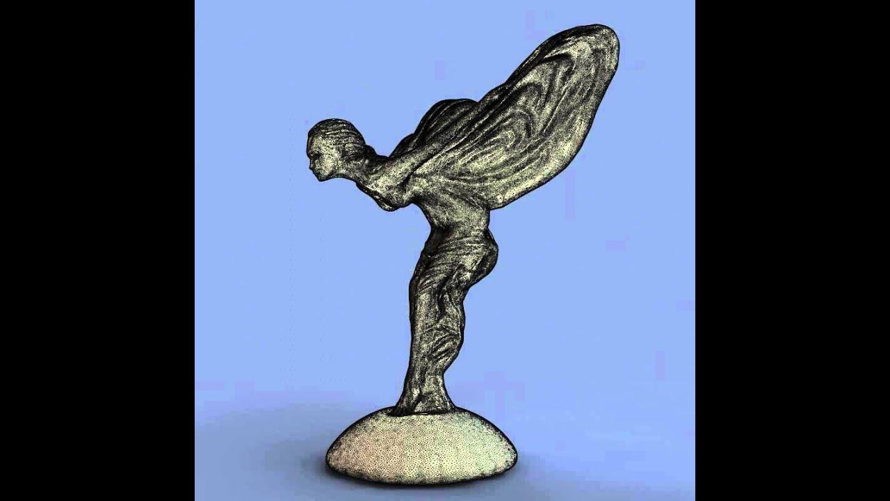 3D Models Rolls Royce Spirit Of Ecstasy 3D model from CGTrader com