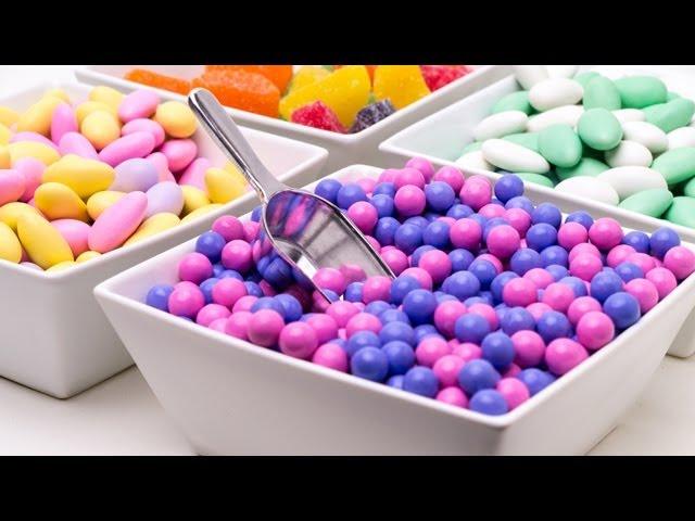 How To Make A Candy Buffet Youtube