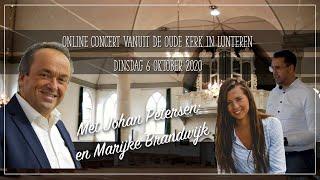 Online concert Martin Mans Johan Petersen Marijke Brandwijk Oude Kerk Lunteren