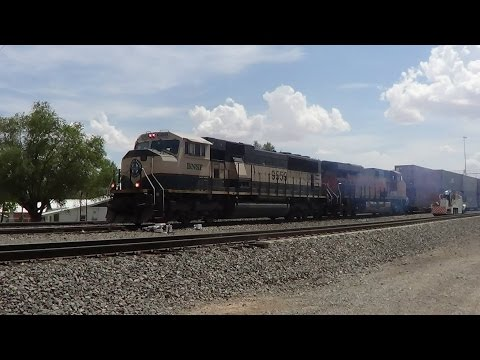 (2012) Railfanning Socorro, NM with Ferromex, Railrunner and Amtrak