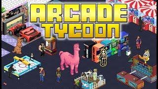 Arcade Tycoon - Pixel Art Arcade Building Management Sim!