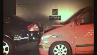 ► CRASH TEST - Hyundai Atos VS Audi A6