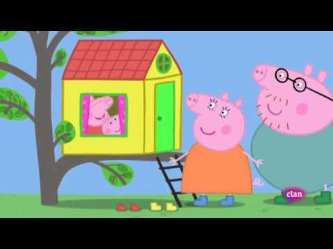 Peppa Pig La casa del arbol rinconcito soleado  YouTube