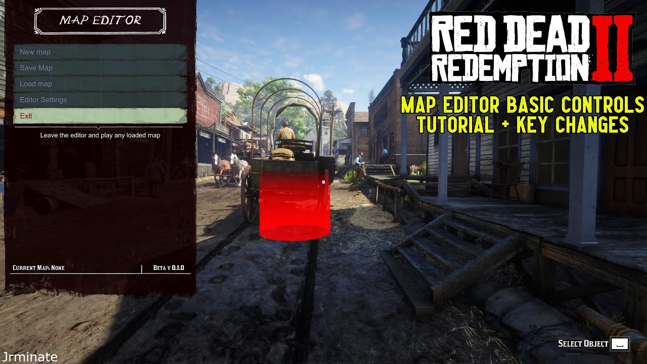 Red Dead Redemption 2 Map editor Basic Controls Tutorial