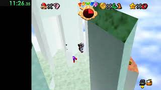 Super Mario Treasure World Dream Edition - Rambi's Reverie Red Coins Theory TAS