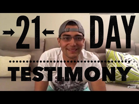 """21 Day"" Fast Testimony 