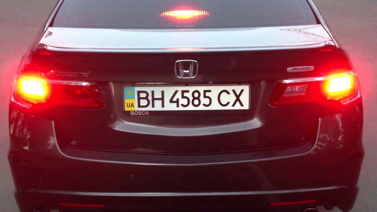 Honda Accord Acura TSX LED Tail Lights 2013 YouTube