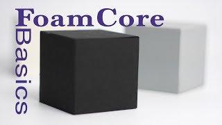 FoamCore Basics Tutorial Guide FoamBoard model making: modeling tips and tricks for Designers