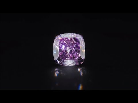 Extremely Rare Purple Diamond from Rio Diamond
