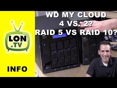 WD My Cloud - Choosing between a 2 drive and 4 drive NAS - RAID 5 vs. RAID 10