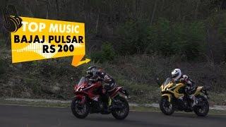 Bajaj Pulsar RS 200 | Top Music | PowerDrift