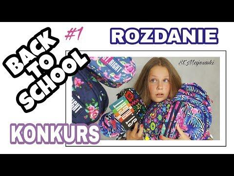 BACK TO SCHOOL 2017 #1 💼 TEKSTYLIA I PRZYBORY ST.MAJEWSKI 📚 KONKURS + ROZDANIE
