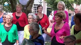 Het Nieuwendammer Shantykoor wint voor de 2e keer het Meezingfestival Monnickendam