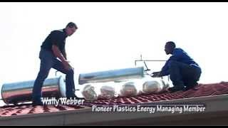 Geyser Blanket FITMENT on Hot Water Cylinder to reduce heat loss & save energy - Wally Weber