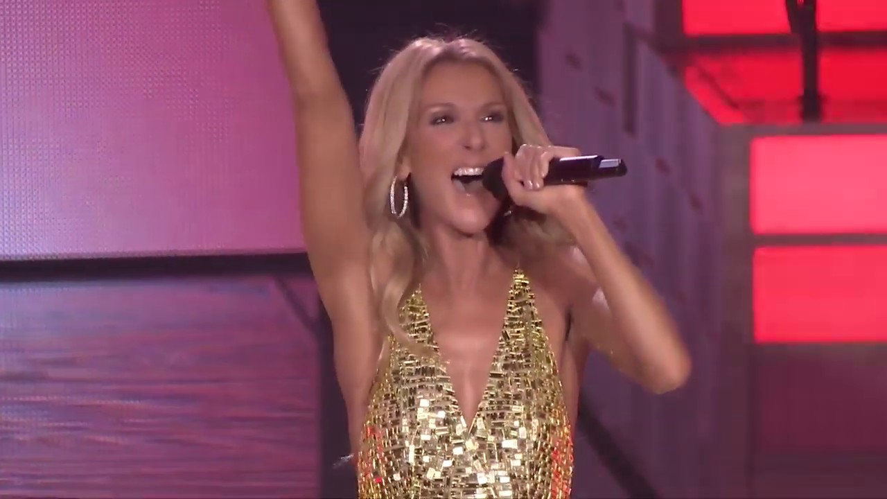 VJBrendan.com: Céline Dion - Flying On My Own Live from