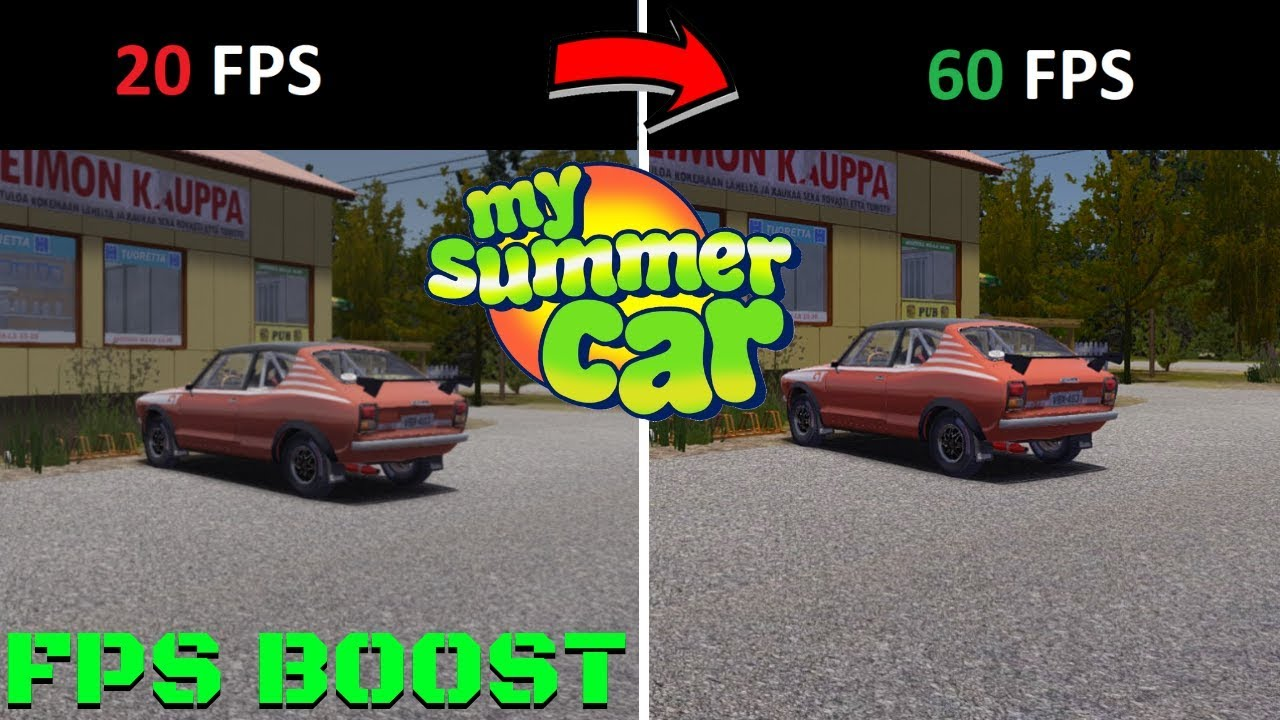 Disable All Fps Boost Best Way To Increase Fps My Summer Car 172 Mod