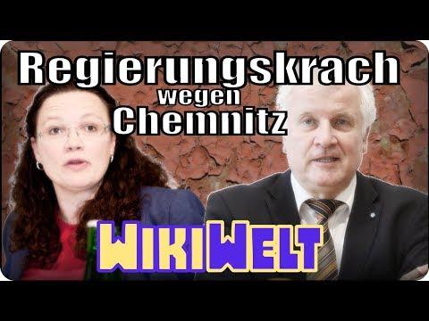Regierungskrach wegen Chemnitz - meine WikiWelt #82