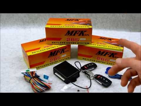 Code Learning Remotes on Autoloc MFK 285 295 Keyless Entry System