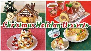 Top 15 Christmas Holiday Desserts (Easy Photogenic Recipes) | OCHIKERON | Create Eat Happy :)