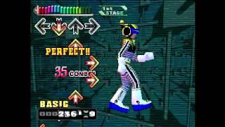 Dance Dance Revolution Konamix (PlayStation) Salamander (Beat Crush Mix)