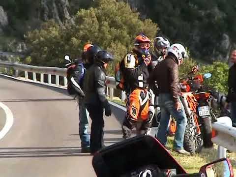 Video Moto Tour  Sardegna 2009 Autoscuola CHITI