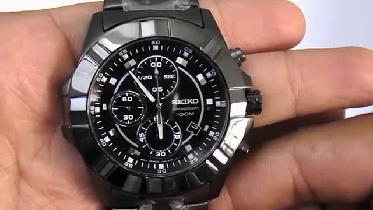 e05e4c7a909 Relógio Seiko 7t92cd 1 - YouTube