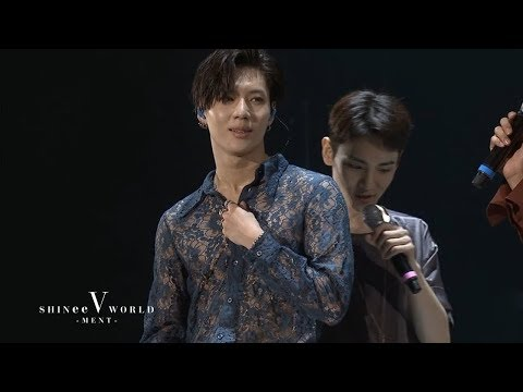 SHINee World V - Talk Cut (ENG/JPN/CHI Subtitles)