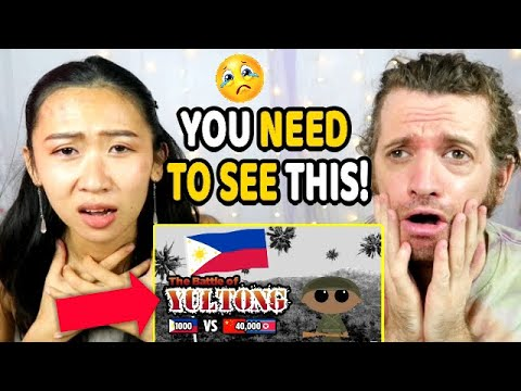 Download FOREIGNERS REACT to BATTLE OF YULTONG! 1,000 FILIPINO Troops VS 40,000 CHINESE Soldiers!