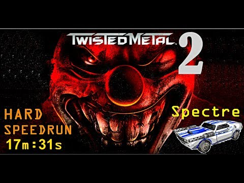 Old Games Gameplay - Twisted metal 2 (SPEEDRUN) - HARD
