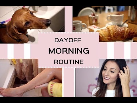 DAY OFF MORNING ROUTINE! LAZY DAY ROUTINE