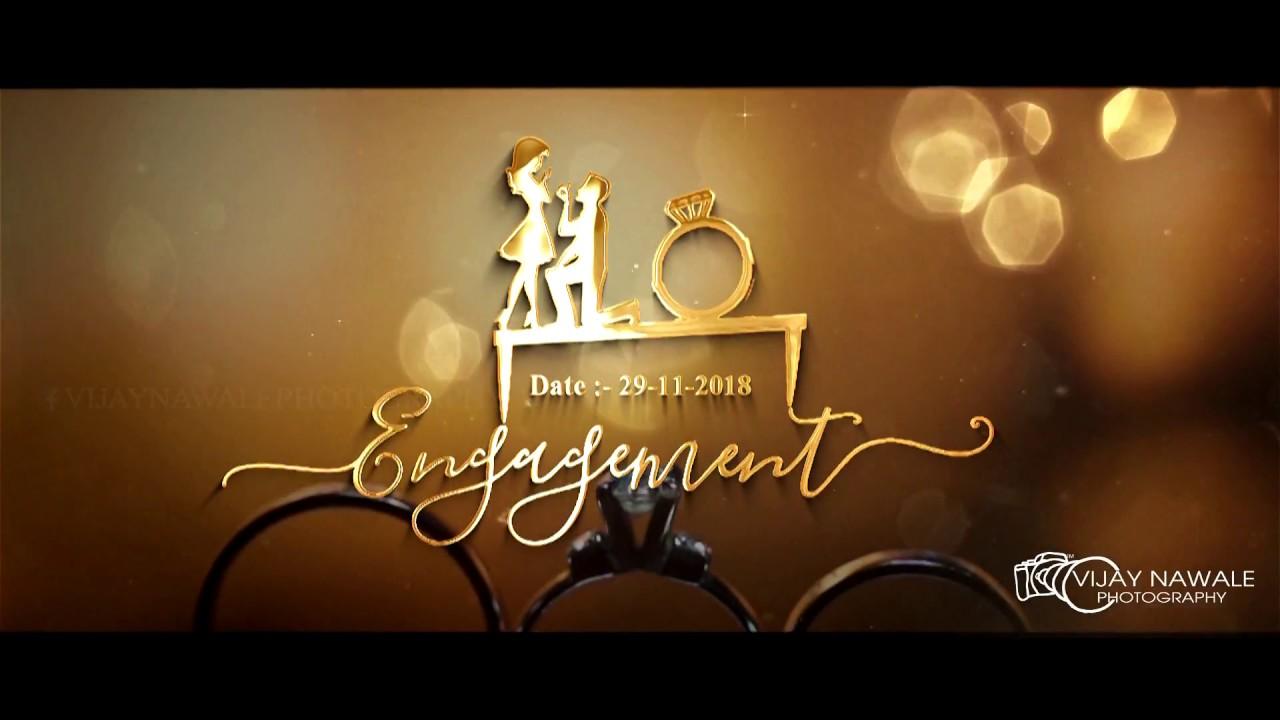 Ring Ceremony Invitation Video Engagement Invitation Video