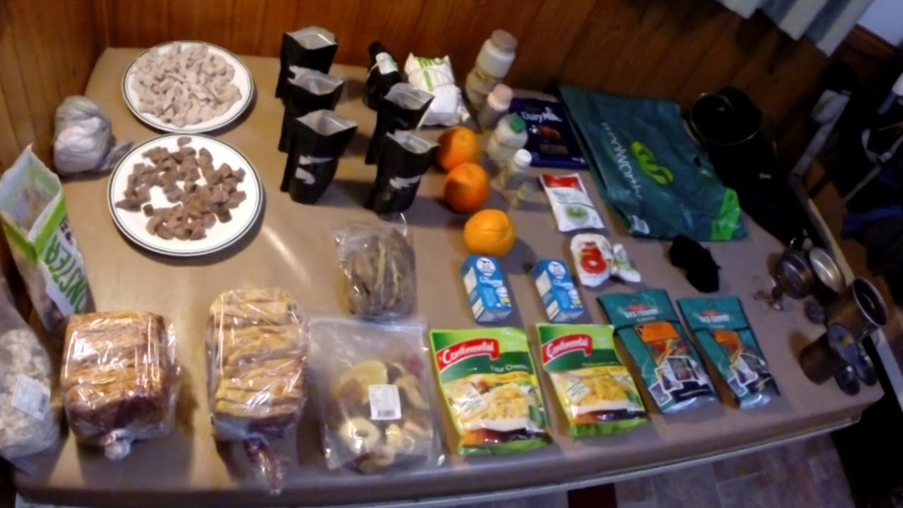 Hiking Food Ideas For Long Distance Backpacking