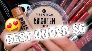 BEST DRUGSTORE MAKEUP UNDER $6
