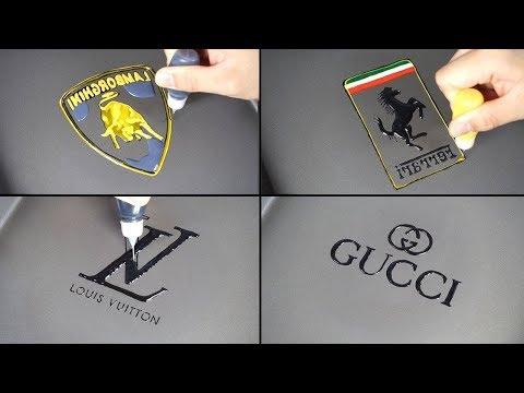 World's Most Expensive Pancake Art - LOUIS VUITTON, HERMES, GUCCI, CHANE, Lamborghini, Ferrari, Audi